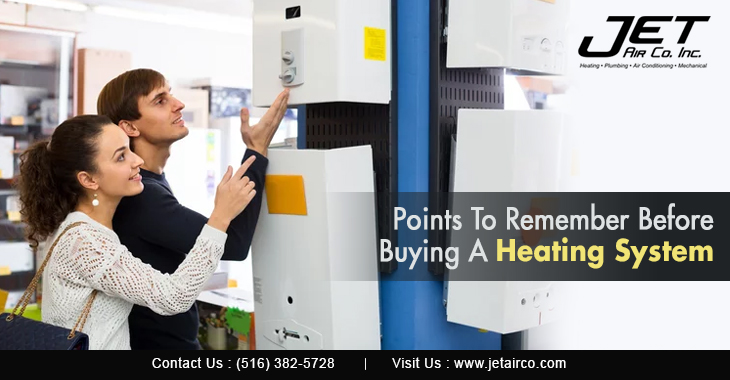 Points to Remember Before Buying a Heating System